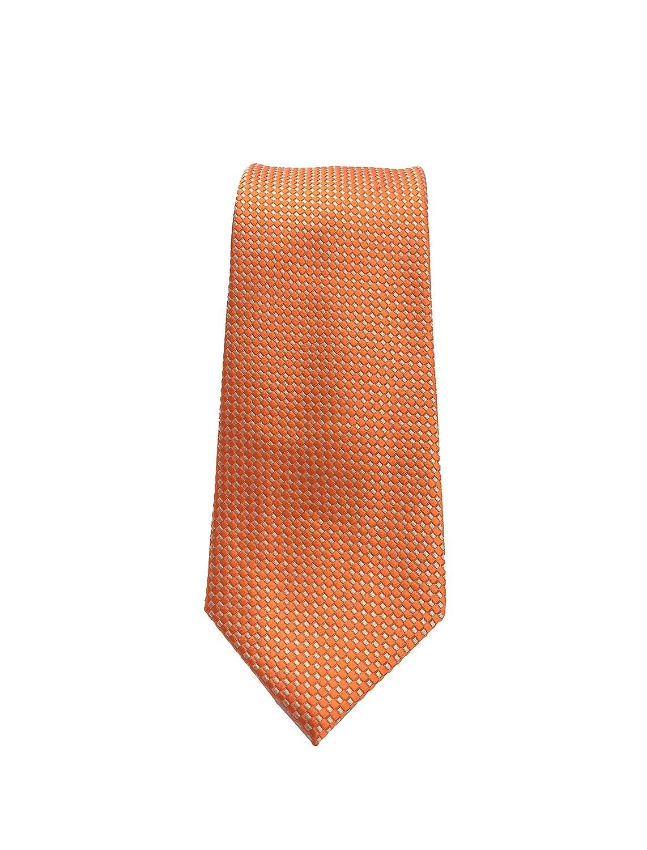 corbata para bodas Pietro Baldini Corbata naranja corbata elegante
