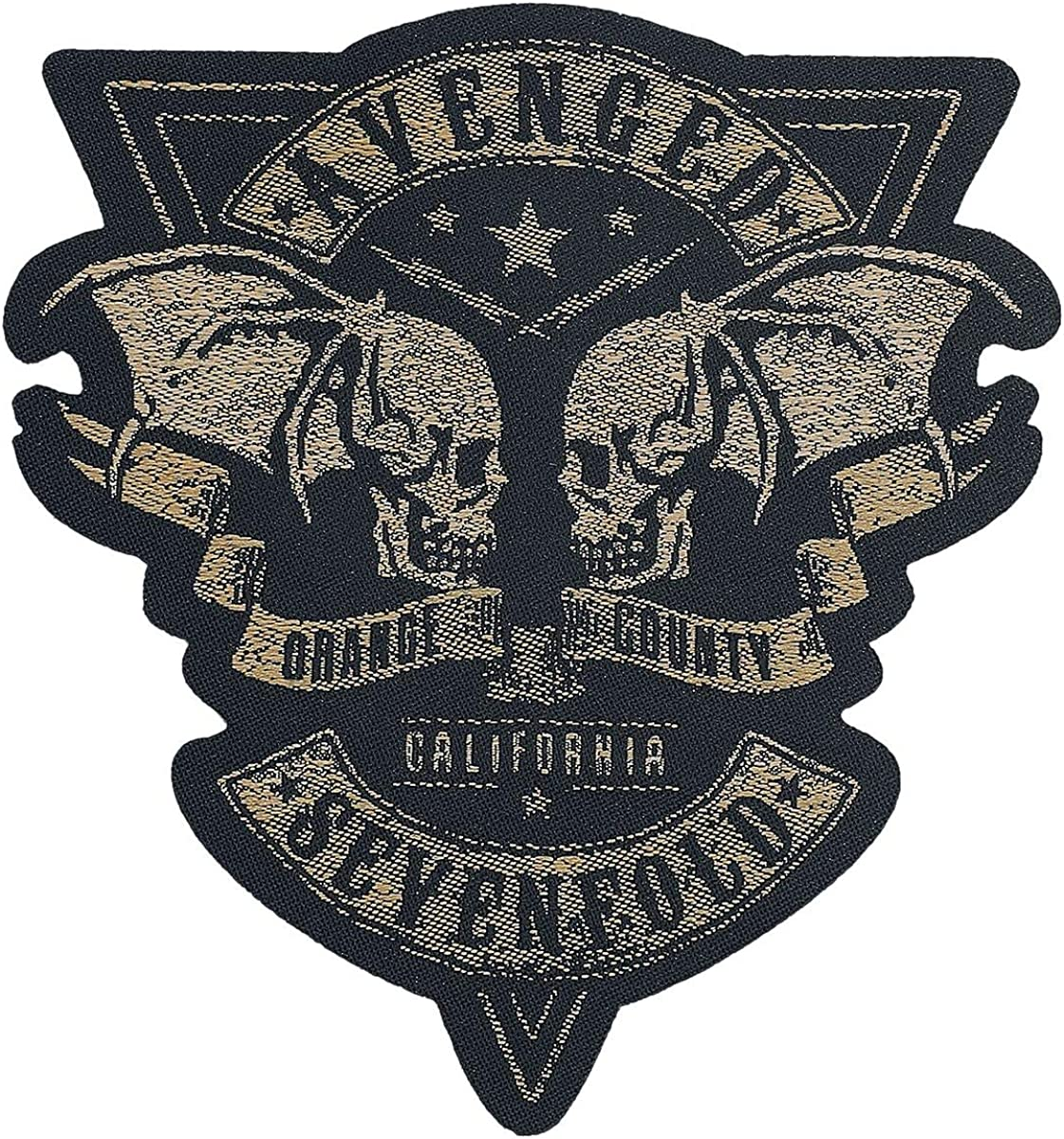 Avenged Sevenfold Orange County Cut-Out Unisexe Patch multicolore,