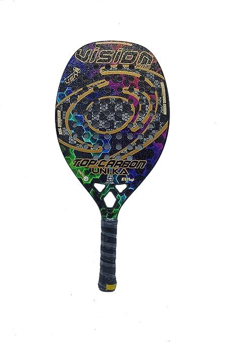 Vision Pala de Tenis Playa Top Carbon UNIKA 2019