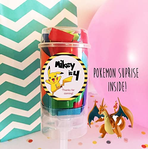 amazon com set of 6 pokemon party favors pokemon surprise