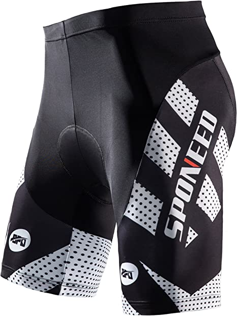 Sponeed Men's Cycling Shorts