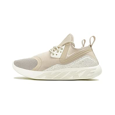 Nike LunarCharge Essential Women's Shoe (6.5, Oatmeal/Sail-Volt)