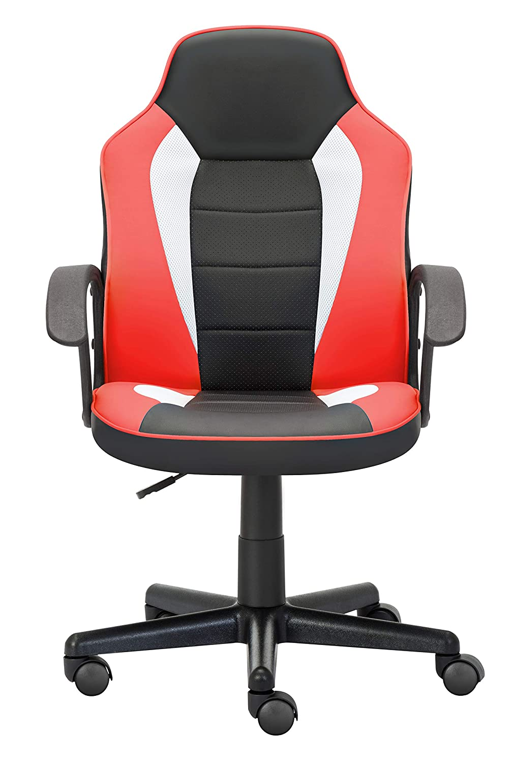 Blue 360 Degree Swivel Adjustable Ergonomic Chair IntimaTe WM Heart Small Desk Gaming Chair for Bedroom with Ergonomic Design /& Back Support