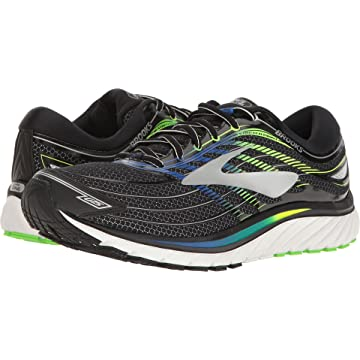 cheap Brooks Men's Glycerin 15 Black/Electric Blue/Green Gecko 10.5 D US 2020