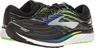 66ef3c06cfae Image Unavailable. Image not available for. Color  Brooks Men s Glycerin 15  Black Electric Brooks Blue Green Gecko ...