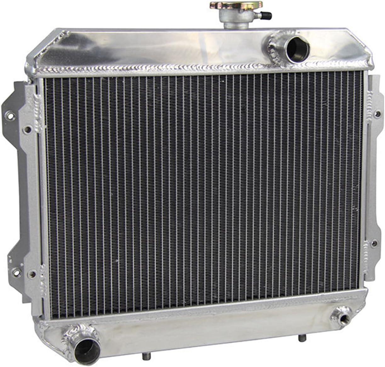 Fit to TOYOTA COROLLA KE30 KE35 KE38 KE55 KE70 1974-1985 Aluminum Radiator 1980