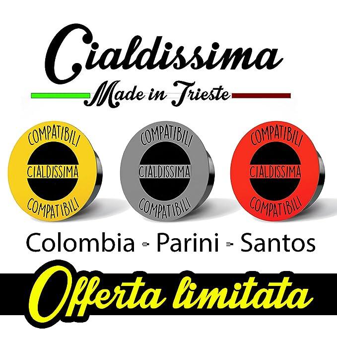 Cialdissima 150 Capsules Compatible Lavazza A Modo Mio Coffee Italian Espresso Three Different Blends 3x 50 Mixed Pack