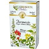 Celebration Herbals Organic Turmeric Ginger Lemon Blend, 24 Bags