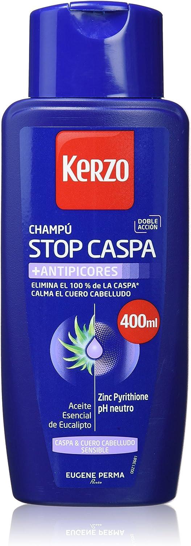 Kerzo Frecuencia Anti-Caida Nutritivo Seco Champú, pack de 2 ...