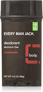 product image for Every Man Jack Deodorant 3oz Cedarwood (3 Pack)