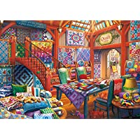 HCFGUS Quilt Shop - 1000 Pieces Jigsaw Puzzle forAdults Hobby Puzzles Toy Artwork Style Gifts DIY Mural Entertainment…