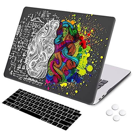MacBook Air 13 inch case 2018 2019 Release Retina Display Touch ID, DQQH Hard case & Keyboard Cover,Only Compatible MacBook Air 13 inch 2018 2019 ...
