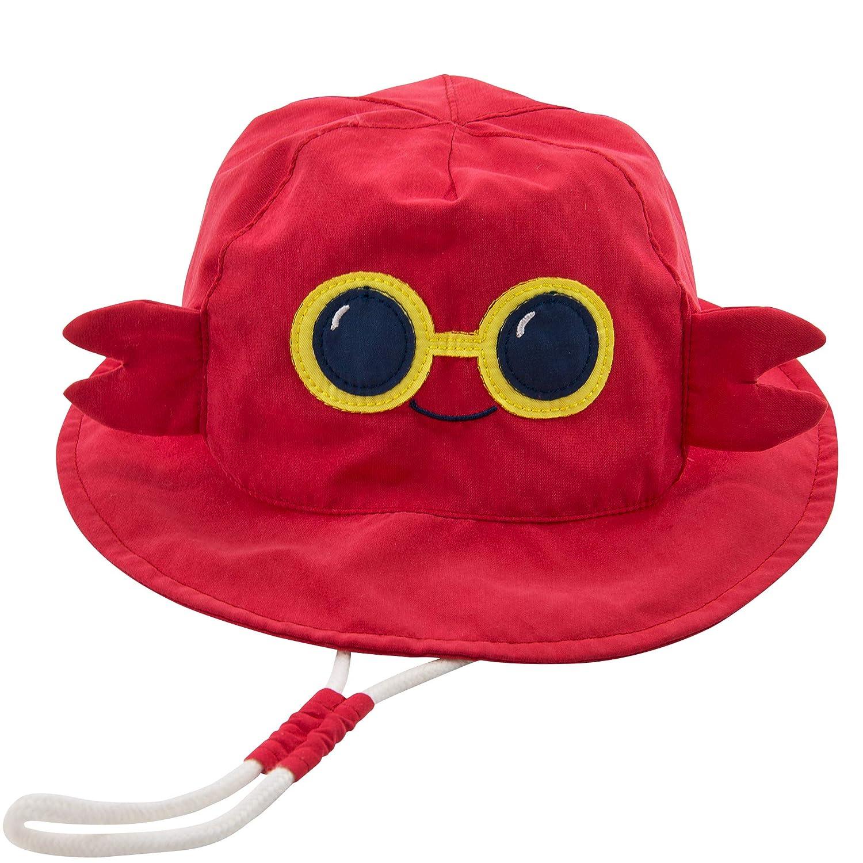 LOVINO Baby Boy Bucket Toddler Sun Hats UPF 50 Kids Beach Caps Babies Summer Hats Sun Protection Hats for Baby