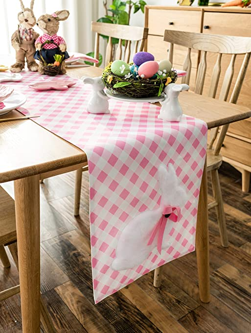 Amazon Com Cassiel Home Easter Decorations Easter Table Runner