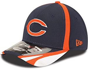 Amazon.com   NFL Chicago Bears 39Thiry Flex Fit Cap 9bd246ad7771
