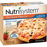 Nutrisystem Feel Good Favorites Thick Crust Pizza, 6 ct