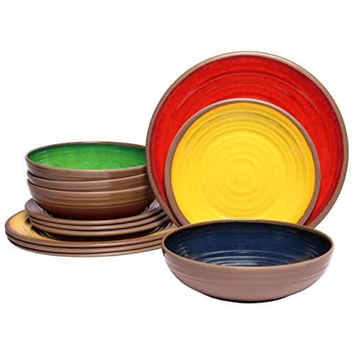Chip Resistant Dinnerware Amazon Com