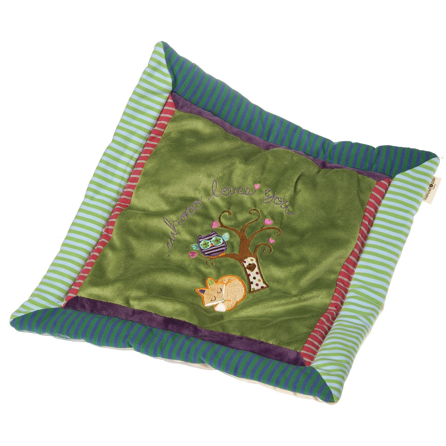Mary Meyer Natural Life Baby Cozy Blanket Love You Forever Fox