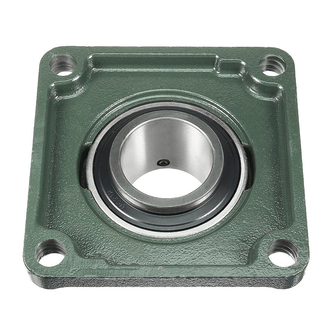 Roulement bloc doreiller 1pcs UCF210 Bride carr/ée de roulement mont/ée de 50 mm