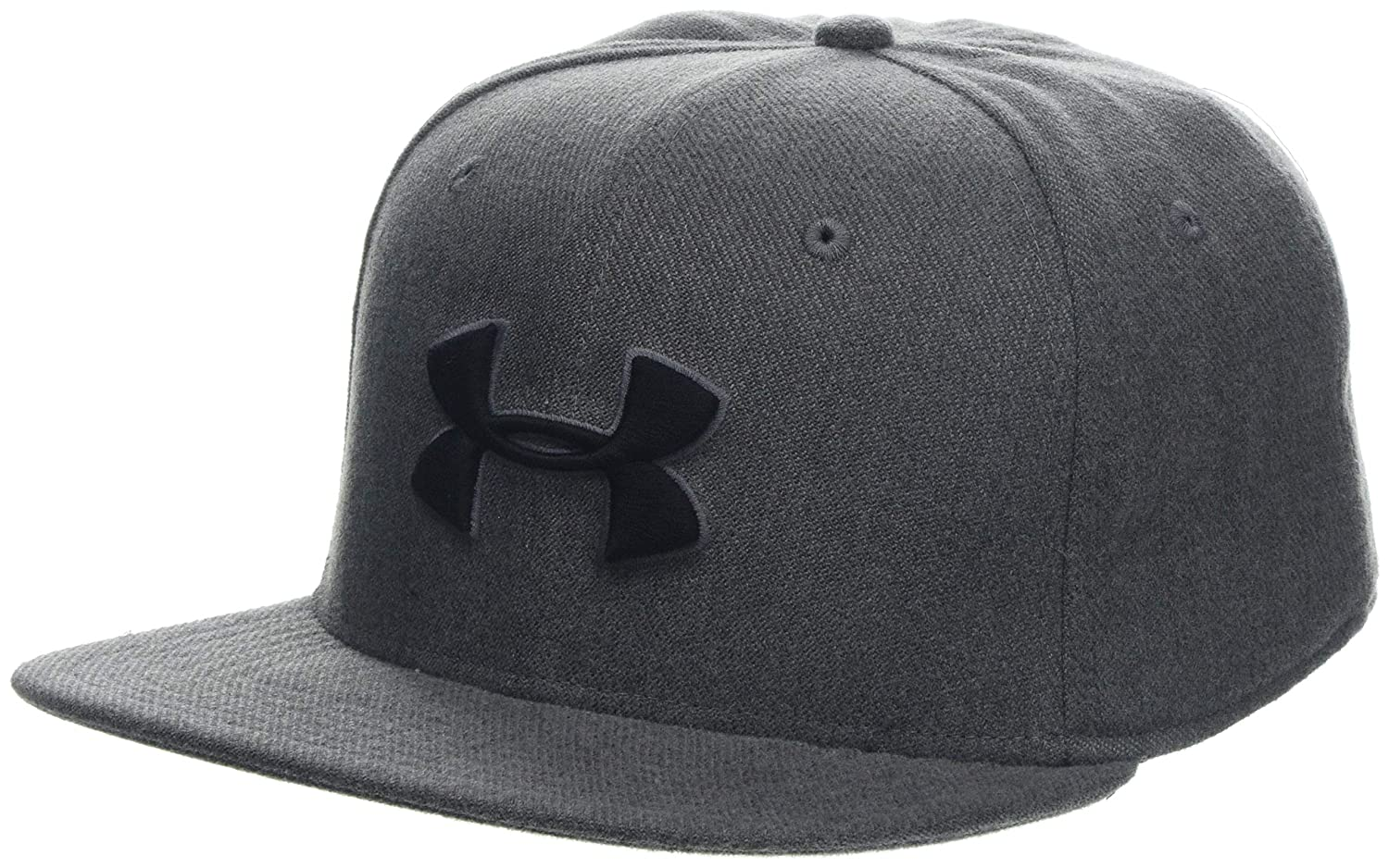 new product f0697 a1ead Under Armour Men s Huddle Snapback 2.0 Cap, Graphite Academy (408), OSFA   Amazon.co.uk  Sports   Outdoors