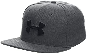 Under Armour Mens Huddle Snapback 2.0 Gorra, Hombre, Gris (Steel/Graphite/