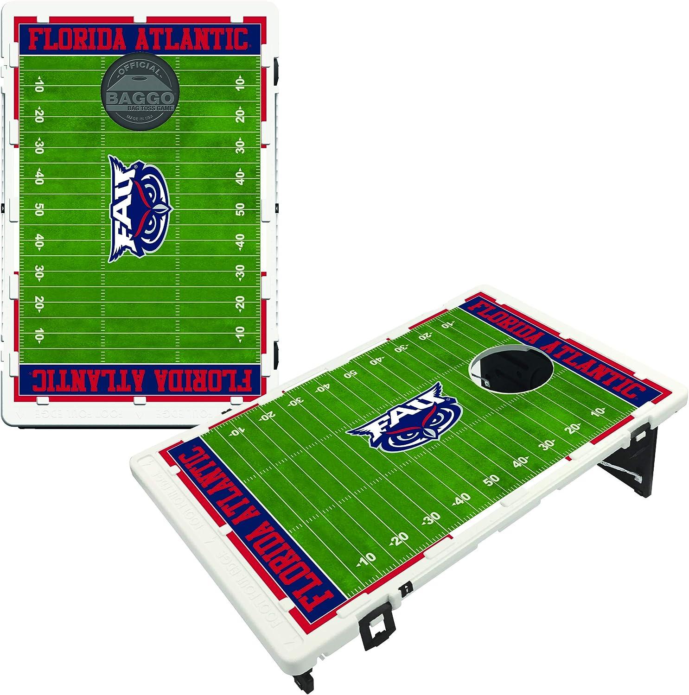 Victory Tailgate Florida Atlantic University FAU Owls Baggo Bean Bag Toss Cornhole Game Homefield Design