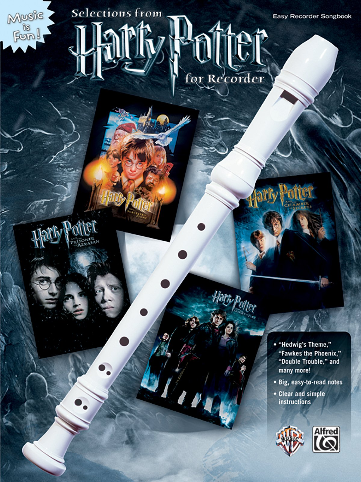 Selections from Harry Potter for Recorder (Book & Recorder) (Music Is Fun)