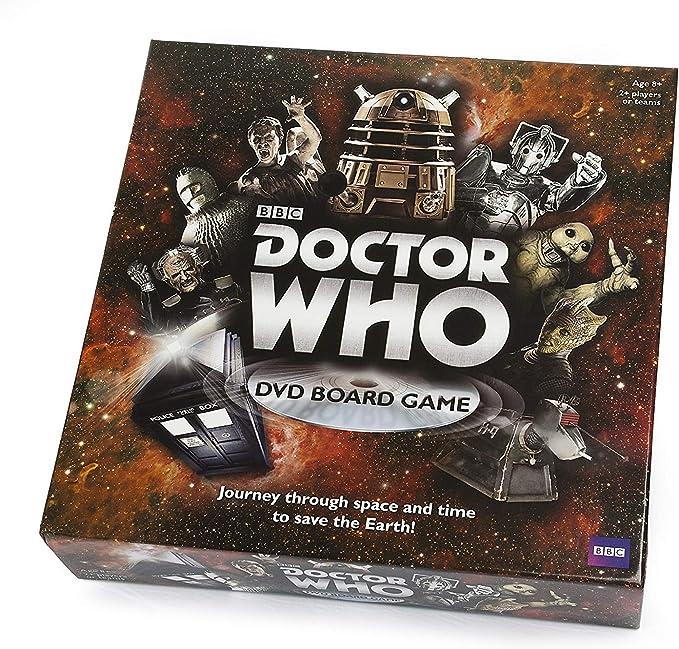 Paul Lamond - Juego de Tablero Doctor Who, de 2 a 4 Jugadores (versión en inglés): Amazon.es: Juguetes y juegos