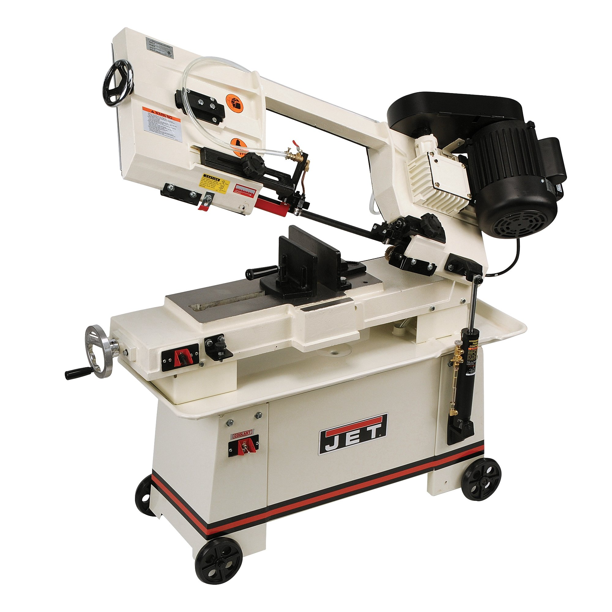 JET J-3410 7-Inch by 12-Inch 3/4-Horsepower 115-Volt Single Phase Horizontal Wet Bandsaw by Jet