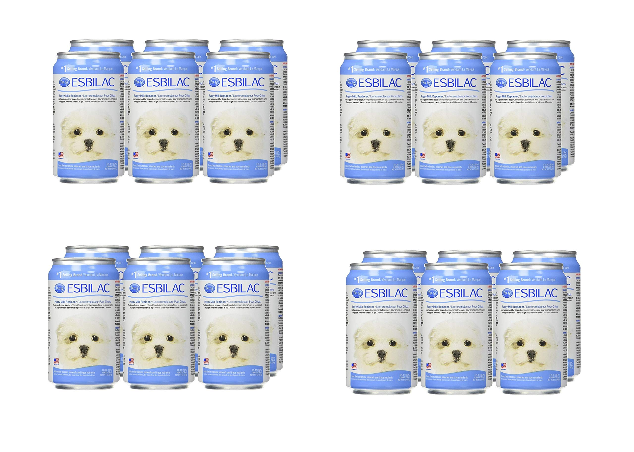 Esbilac Milk Replacer for Puppies 8oz (6 Pack) (4 Pack (6 Count))