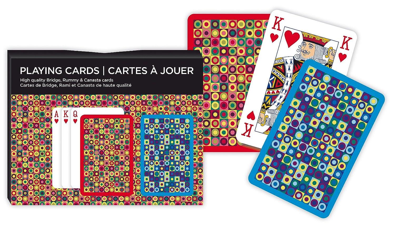 Piatnik Double Deck Dots Bridge Double Playing Cards P2633