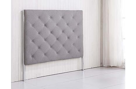 Cabecero tapizado con patas para dormitorio modelo CAPITONÉ ...