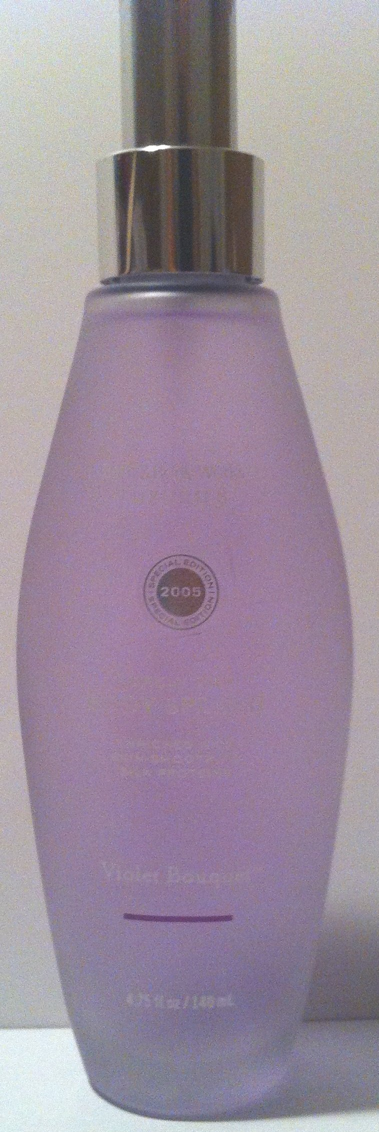 Bath & Body Works Violet Bouquet Purely Silk Body Splash with Skin Smoothing Silk Proteins 4.75 Fl Oz