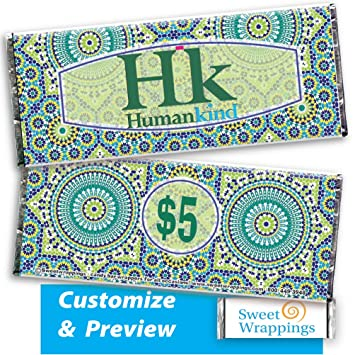 Amazon Com Personalized Candy Bar Wrappers Raise Money Gift