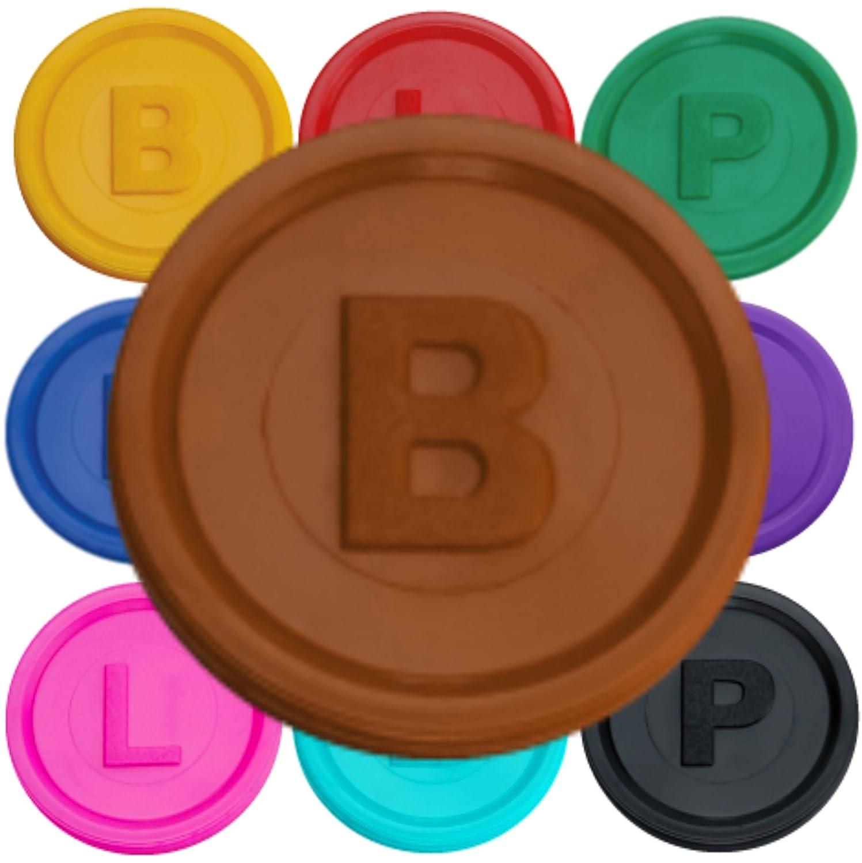 SCHWABMARKEN Gettoni Fiches Chips B P o L in 14 Colori a Un Prezzo VANTAGGIOSO