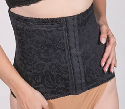 5ced8d89c Image Unavailable. Image not available for. Color  Subtle Print Fabric Waist  Cincher With Boning