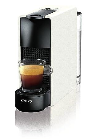 Máquina para café Krups xn1101 K - Essenza máquina para Espresso para cápsulas café Capacidad la Bidón 0,6 l de color blanco: Amazon.es: Hogar