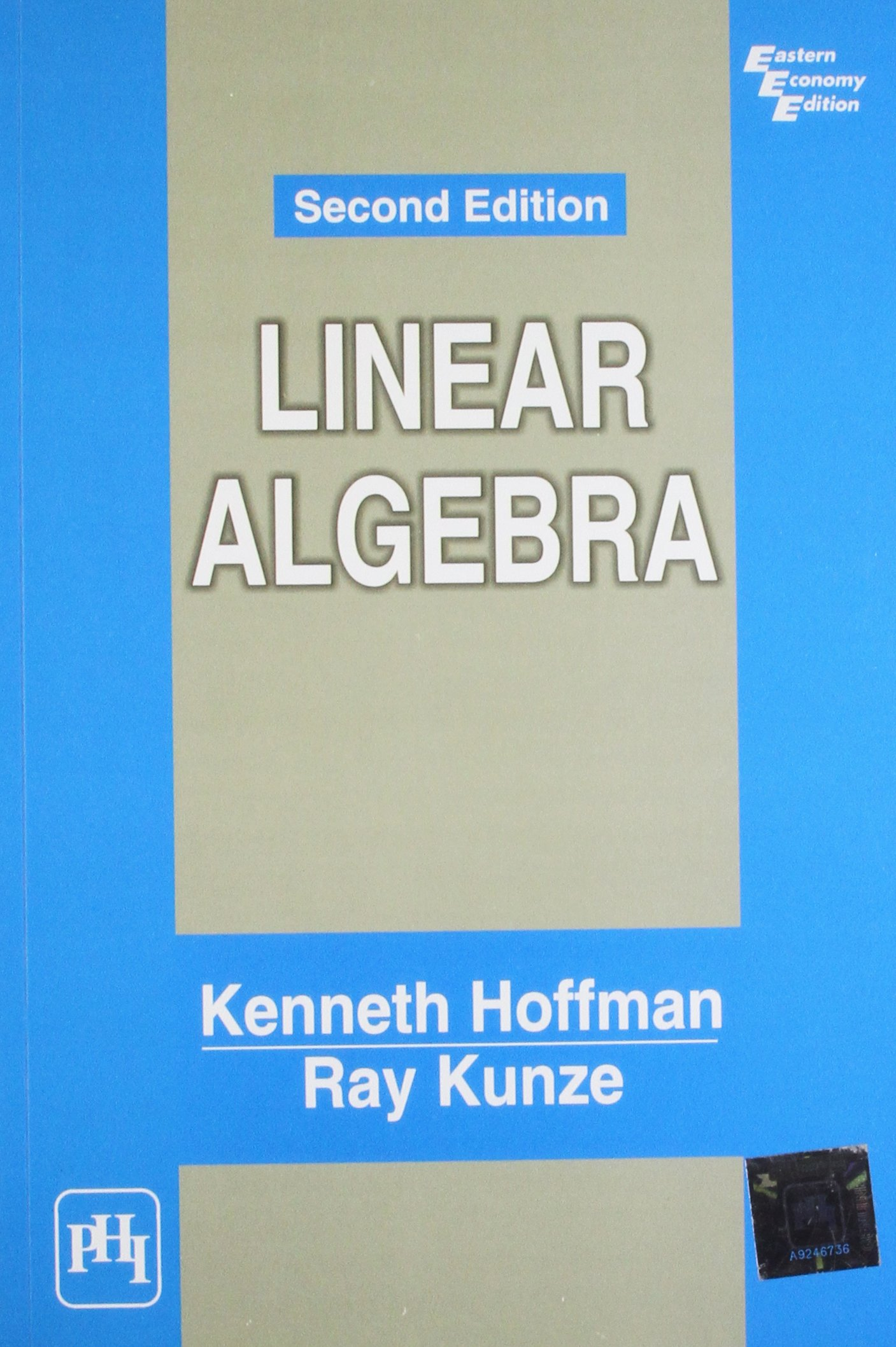 K.hoffman And R.kunze Linear Algebra Download
