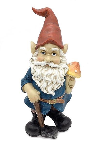FICITI Garden Gnome Statue 10