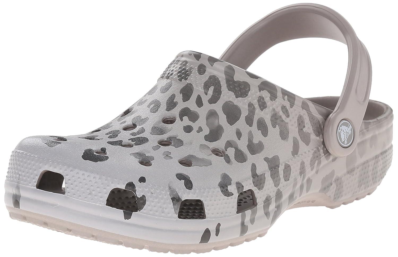 Crocs Unisex Classic Leopard Fade Mule