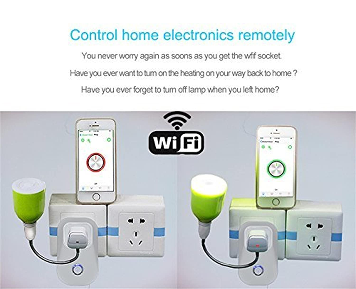Wireless Mini Outlet SM-PW702 No Hub Required Timer Plug Compatible With Alexa, Remote Control Your Devices from Anywhere 4-pack Xenon PW702U WiFi Smart Plug