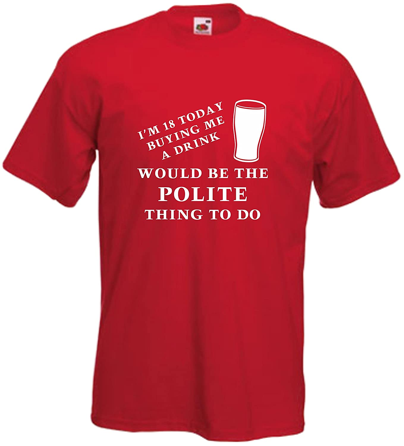 43rd BIRTHDAY T Shirt S-XXL BUYING ME A DRINK WOULD BE THE POLITE THING TO DO
