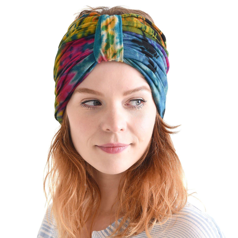 Amazon Charm Hippie Turban Headwraps For Women Boho Headbands