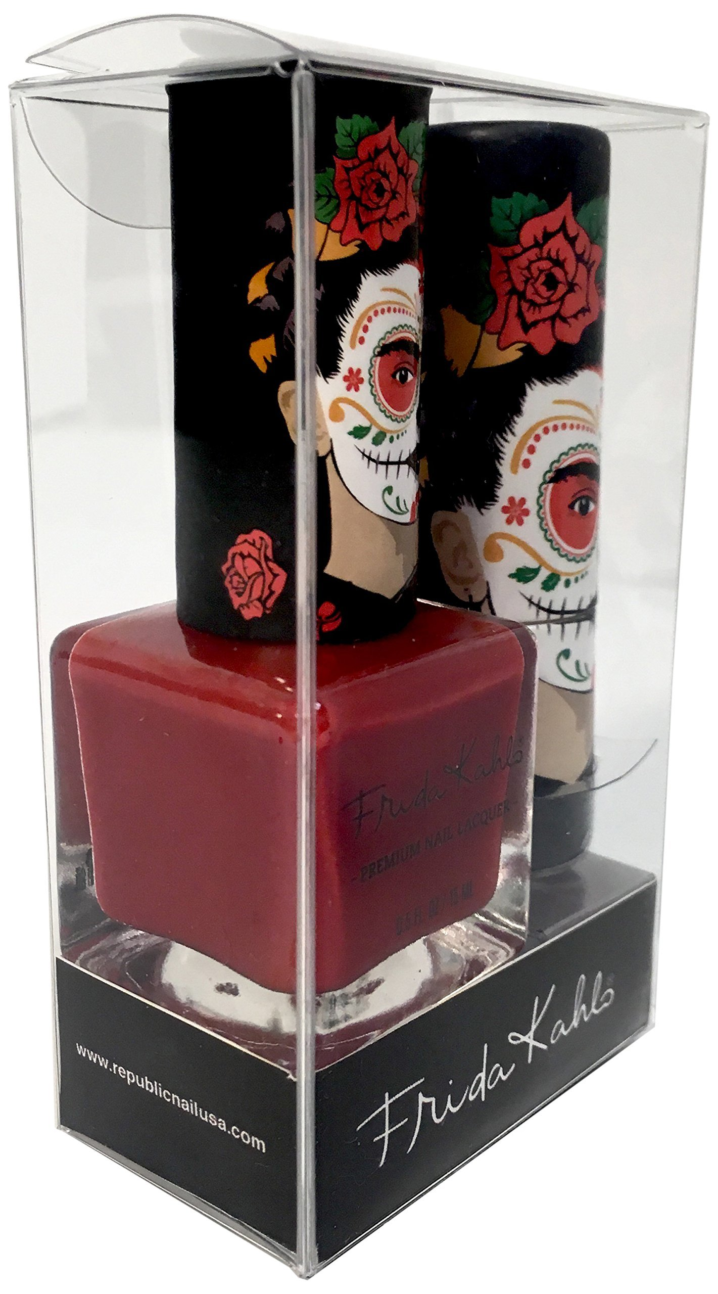 Frida Kahlo Nail Polish And Lipstick