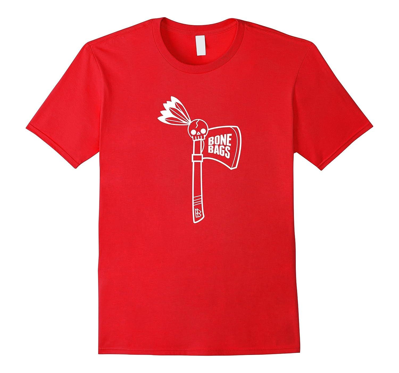 Bone Bags Tomahawk T-Shirt White-FL