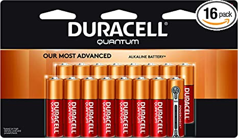 8 count CopperTop AA Alkaline Batteries long lasting all-purpose Double A battery for household and business Duracell