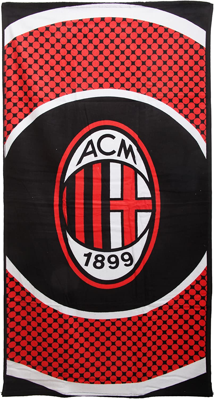 AC Milan Bullseye Beach Towel
