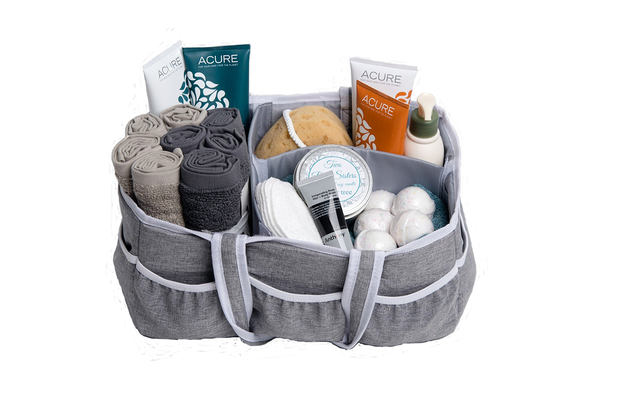 Wallaby Diaper Caddy Storage Bin - Organizer for Diapers, Wipes, Baby Bottles and More. Great for Home, Car, Travel or a Baby Shower Gift. by Bed Buddy (Image #9)