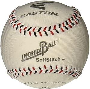 Amazon com : Easton 9'' SoftStitch IncrediBall® Baseballs (1 Dozen