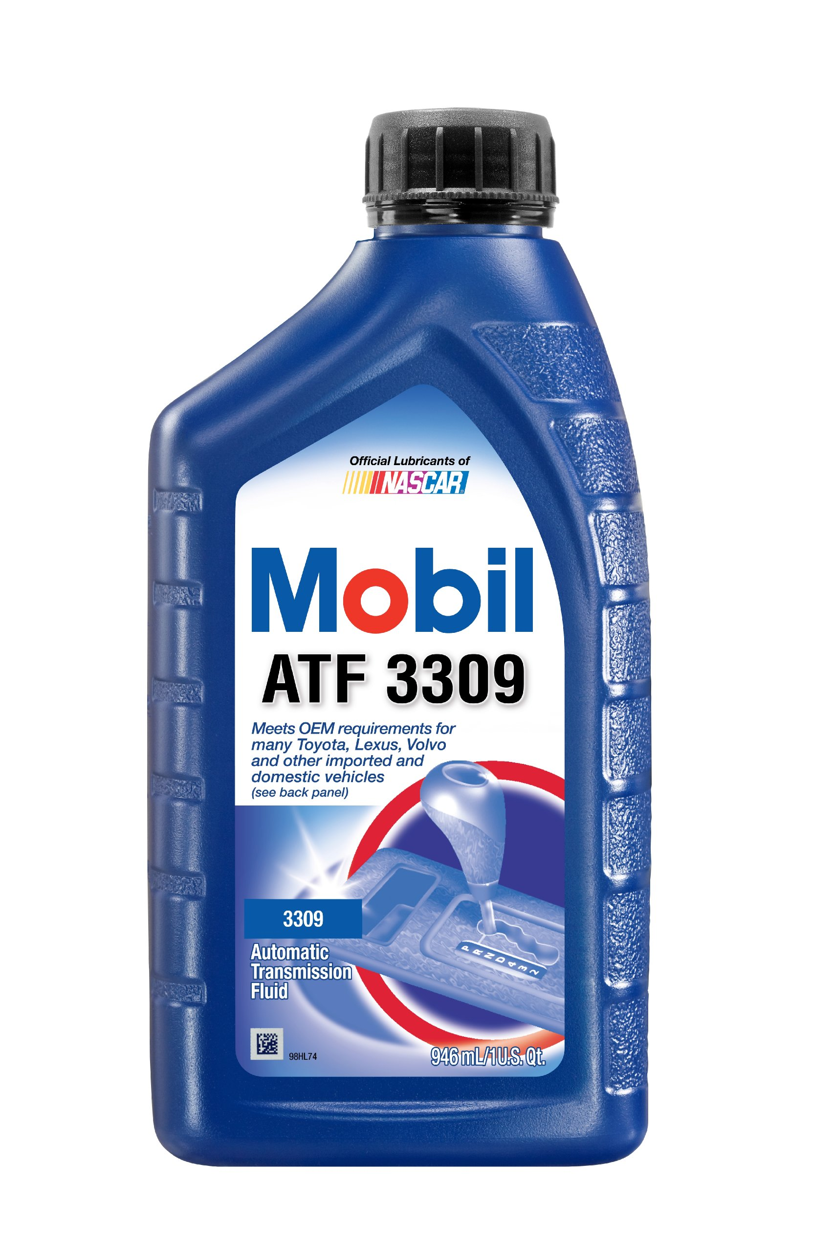 Mobil 1 55221 3309 Automatic Transmission Fluid - 1 Quart (Pack of 12) by Mobil 1
